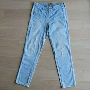 High Waist Jeans Light Blue Chino Soho German